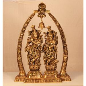 radha_krishna_tall_brass_statue
